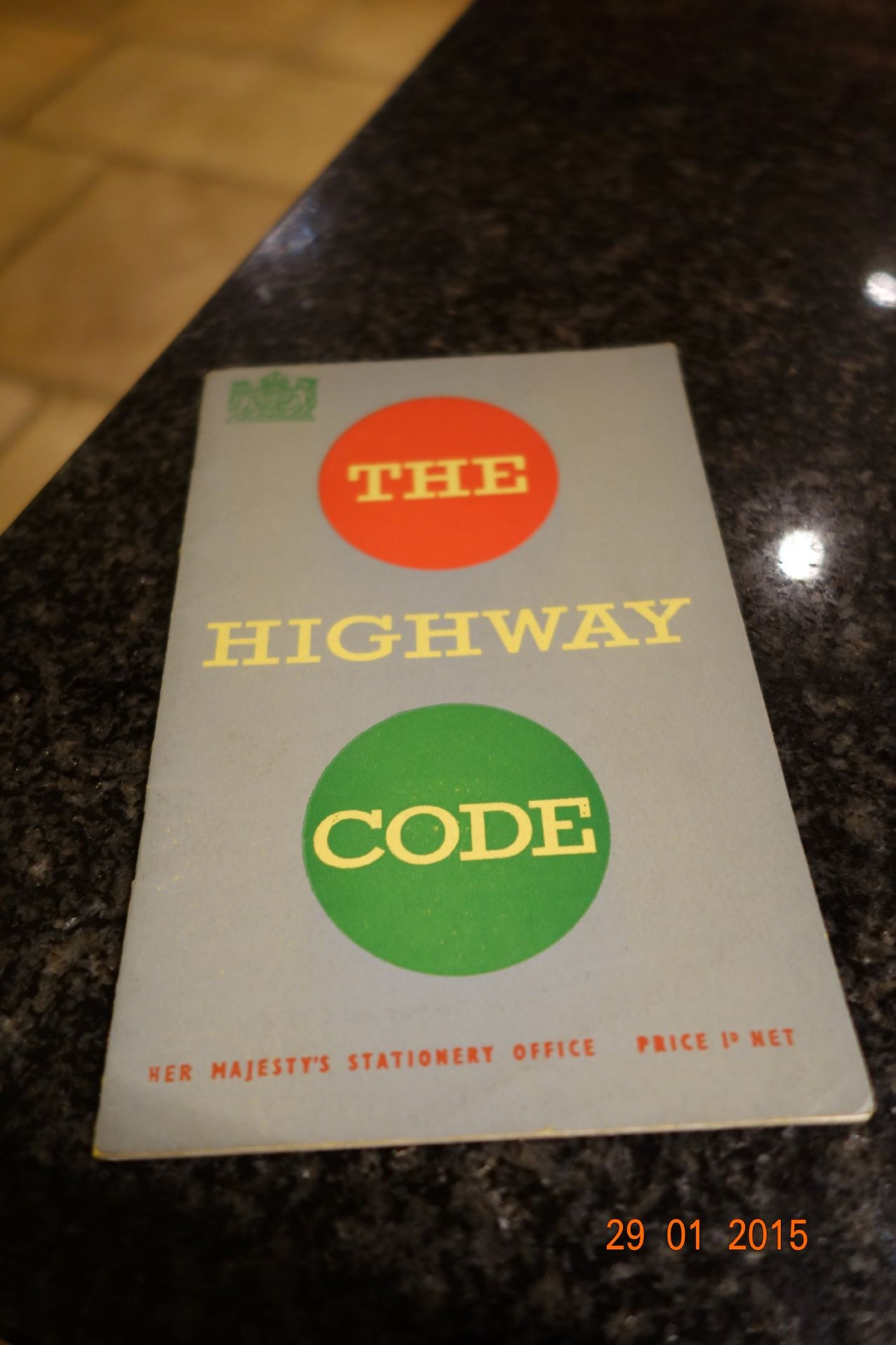 1954 UK Highway Code Book with pictures road signs and police signals ...